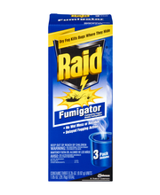 Raid® Fog Fumigator Insecticide 3 ct Pack