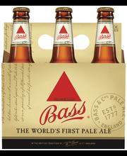 Bass Pale Ale, 6 pk 12 fl. oz. Bottles