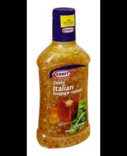 Kraft Zesty Italian Dressing 16 fl. oz. Bottle