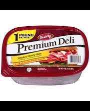 Buddig™ Premium Deli Smoked Honey Ham 16 oz. Tub