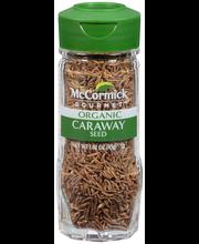 McCormick Gourmet™ Organic Caraway Seed 1.62 oz. Bottle