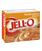 Jell-O® Butterscotch Instant Pudding & Pie Filling Mix 3.4 oz...