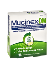 Mucinex® DM 12 Hour Extended-Release Bi-Layer Expectorant & C...
