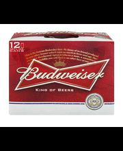 Budweiser®  Beer 12-12 fl. oz. Cans