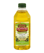 Pompeian® OlivExtra® Original Canola Oil and First Cold Press...