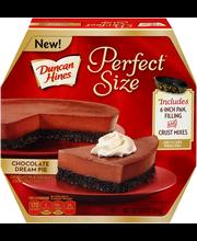 Duncan Hines® Perfect Size™ Chocolate Dream Pie Chocolate Pie...