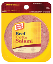 Oscar Mayer Beef Cotto Salami Cold Cuts 8 oz. Pack