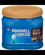Maxwell House Intense Bold Ground Coffee 26.7 oz. Tub