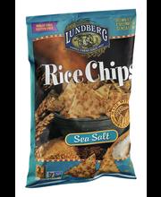 Lundberg Family Farms® Sea Salt Rice Chips 6 oz. Bag