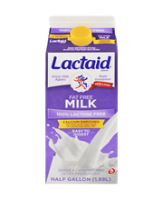 Lactaid® 100% Lactose Free Fat Free Calcium Enriched Milk 1.8...