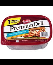 Buddig™ Premium Deli Oven-Roasted Turkey Breast 16 oz. Tub