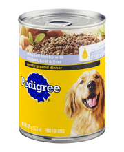 Pedigree Meaty Ground Dinner Chopped Combo with Chicken Beef ...