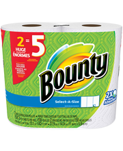 Bounty Select-A-Size Paper Towels 2 ct Pack