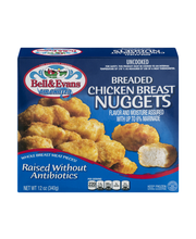 Bell & Evans Air Chilled Breaded Chicken Breast Nuggets