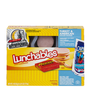 Lunchables Turkey & American Cracker Stackers Lunch Combinati...