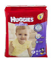 Huggies® Little Movers® Size 3 Diapers 28 ct Pack