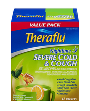 Theraflu® Nighttime Severe Cold & Cough Packets 12 ct Box