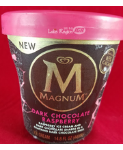 Magnum Dark Chocolate Raspberry Ice Cream, 14.8 fl oz