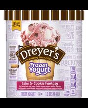 DREYER'S/EDY'S Cake & Cookie Fantasy Frozen Yogurt 48 fl. oz....