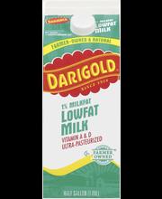 Darigold® One Low Fat Milk with Vitamins A & D 0.5 gal. Carton