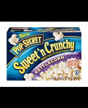 Pop Secret® Sweet 'n Crunchy Kettle Corn Popcorn 3-2.64 oz. Bags