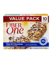 Fiber One® Oats & Chocolate Chewy Bars 10-1.4 oz. Wrappers
