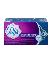 Puffs® Ultra Soft™ White Facial Tissues 8-124 ct Boxes