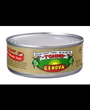 Genova® Yellowfin Tuna in Olive Oil 5 oz. Can
