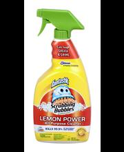 Fantastik® Scrubbing Bubbles® Lemon Power All Purpose Cleaner...