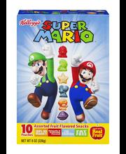 Kellogg's® Mario Kart™ Assorted Fruit Flavored Snacks 10 ct Box