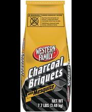 Wf Charcoal Briquets Mesquite