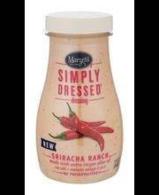Marzetti® Simply Dressed® Sriracha Ranch Dressing 12 fl. oz. ...