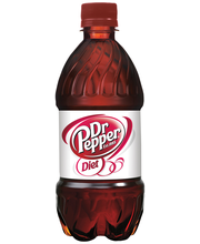 Dr Pepper Diet 12 Oz Hi-Cone Soda 8 Pk Plastic Bottles