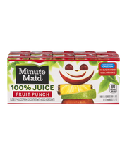 Minute Maid® Fruit Punch 100% Juice 10-6 fl. oz. Pack