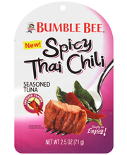 Bumble Bee® Spicy Thai Chili Seasoned Tuna 2.5 oz. Pouch
