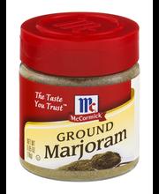McCormick® Ground Marjoram 0.65 oz. Bottle