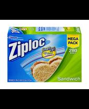 Ziploc® Sandwich Storage Bags 280 ct. Box