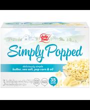 Jolly Time® Simply Popped™ Microwave Pop Corn 3-3 oz. Box