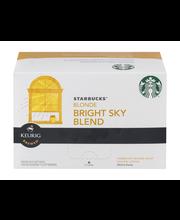 Starbucks® Bright Sky Blend Ground Coffee K-Cup® Pods 10 ct 4...