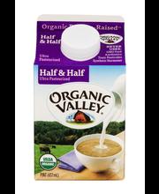 Organic Valley® Organic Half & Half 16 fl. oz. Carton