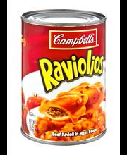 Campbell's® RavioliOs® Beef Ravioli in Meat Sauce, 15 oz.