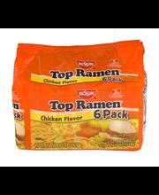 Nissin® Top Ramen® Chicken Flavor Ramen Noodle Soup 6-3 oz. P...