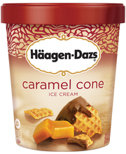 HAAGEN-DAZS Caramel Cone Ice Cream 28 fl. oz. Carton