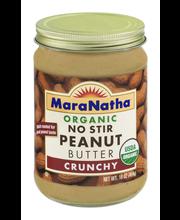 Mara Natha Organic Peanut Butter Crunchy