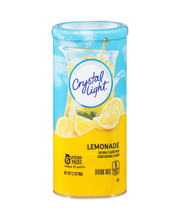 Crystal Light Lemonade Drink Mix 6 ct Canister
