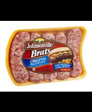 Johnsonville Original Brats 19oz tray (101300, 101343, 101350)