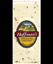 Hoffman's Swisson Rye Cheese 8 oz. Brick