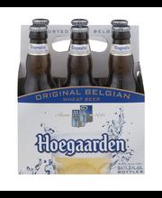 Hoegaarden Witbier, 6 pk 11 fl. oz. Bottles