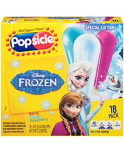 Popsicle® Disney Frozen Ice Pops 18 ct Box