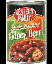 Wf Dk Red Kidney Beans
